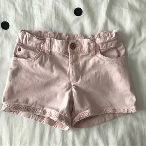 CARTER'S Girls' Pink Denim Shorts
